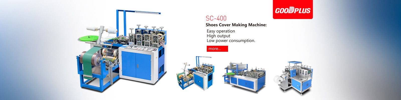Plastic Shoes Cover Making Machine